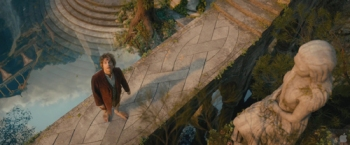 Hobbit-Bilbo-in-Rivendell-entranced-high-angle-small